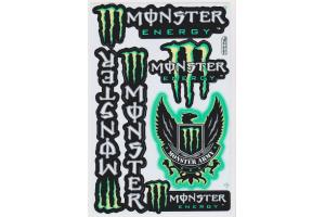 Monster Energy Stickerbogen Monster-Army grün