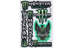 monster energy stickerbogen monster army gr n. Black Bedroom Furniture Sets. Home Design Ideas